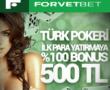 Forvetbet Türk Pokeri